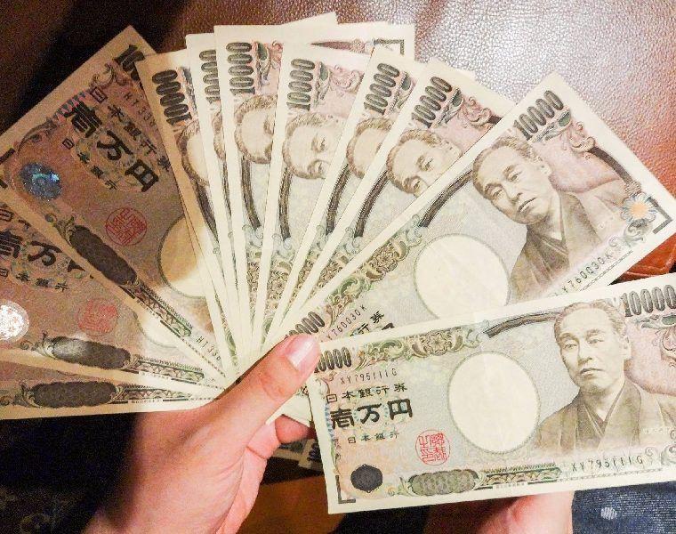 100000 cash