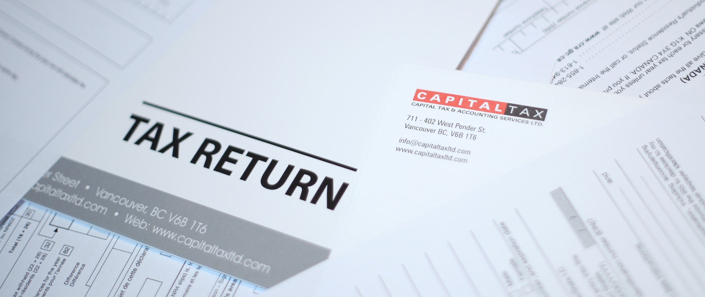 Income Tax Services for Resident and Non-Resident of Canada